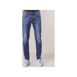 Jeansy slim fit G-Star Raw  3301 SLIM. Niebieskie jeansy męskie relaxed fit marki Adidas, m. Za 455,20 zł.