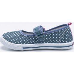 American Club - Tenisówki dziecięce. Szare buty sportowe dziewczęce marki American CLUB, z materiału, z okrągłym noskiem. Za 49,90 zł.