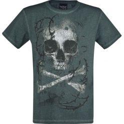 T-shirty męskie z nadrukiem: Alchemy England Remains T-Shirt ciemnozielony