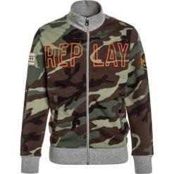 Replay Bluza rozpinana grey melange. Zielone bluzy dziewczęce rozpinane marki Replay, z bawełny. Za 369,00 zł.