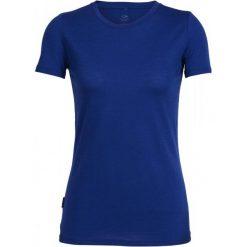 Bluzki, topy, tuniki: Icebreaker Koszulka Sportowa Wmns Tech Lite Ss Crewe Cobalt S