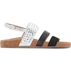 Rzymianki damskie: Sandały skórzane