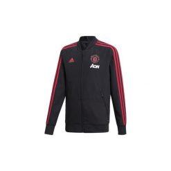 Bluzy dresowe adidas  Bluza wyjściowa Manchester United. Czarne bluzy dresowe męskie marki Cropp, l, z nadrukiem. Za 269,00 zł.