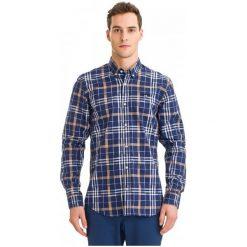 Galvanni Koszula Męska Hannsell Xl, Ciemnoniebieski. Szare koszule męskie na spinki GALVANNI, m, z bawełny. W wyprzedaży za 219,00 zł.