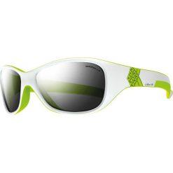 """Okulary przeciwsłoneczne damskie: Okulary przeciwsłoneczne """"Solan"""" w kolorze biało-szarym"""