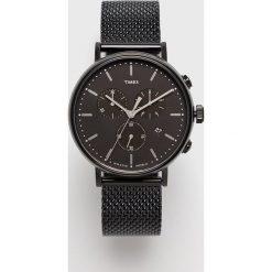 Timex - Zegarek TW2R27300. Czarne zegarki męskie marki Fossil, szklane. W wyprzedaży za 499,90 zł.
