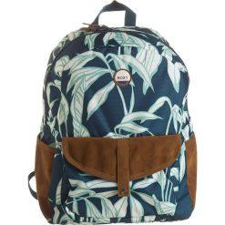 """Plecaki damskie: Plecak """"Carribean"""" w kolorze morsko-białym – 30 x 40 x 12 cm"""