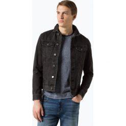 Kurtki męskie bomber: Review - Męska kurtka jeansowa, szary