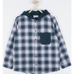 Koszula. Szare koszule chłopięce STREET VIBER, z bawełny, z kapturem. Za 89,90 zł.
