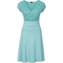 Sukienki: Sukienka z dżerseju bonprix zielony oceaniczny