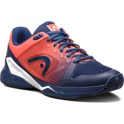 Buty HEAD - Revolt Pro 2.5 Clay 273018 Blue/Flame Orange 065. Niebieskie buty do tenisa męskie Head, z materiału. Za 559,00 zł.