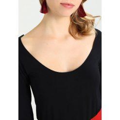 Bluzki asymetryczne: Majestic Bluzka z długim rękawem black