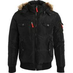 Pier One Kurtka zimowa black. Czarne kurtki męskie zimowe marki Pier One, m, z materiału. Za 419,00 zł.