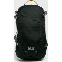 Jack Wolfskin - Plecak. Czarne plecaki męskie Jack Wolfskin, w paski, z materiału. W wyprzedaży za 339,90 zł.
