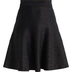 Spódniczki: Warehouse SPARKLE MINI SKIRT Spódnica trapezowa black
