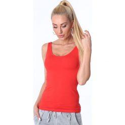 Koszulka na ramiączka czerwona MP14881. Czerwone bralety Fasardi, l. Za 29,00 zł.