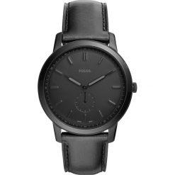 Zegarki damskie: Zegarek FOSSIL – The Minimalist- Mono FS5447  Black/Black