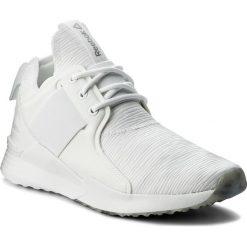 Buty Reebok - Guresu 1.0 CM8878 White/Black/Matte Silver. Białe buty do fitnessu damskie marki Reebok, z materiału. W wyprzedaży za 229,00 zł.