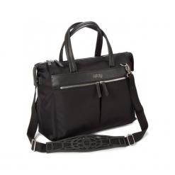 """I-Stay IS0602 15.6"""" czarna. Czarne torby na laptopa marki i-Stay, z materiału. Za 279,00 zł."""