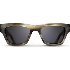 """Okulary przeciwsłoneczne """"Smoke Sean"""" w kolorze szaro-brązowym. Brązowe okulary przeciwsłoneczne damskie lenonki marki Triwa, z tworzywa sztucznego. W wyprzedaży za 259,95 zł."""