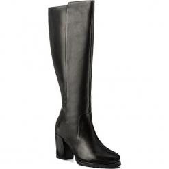 Kozaki GEOX - D New Lise H.H D746UH 00043 C9999 Black. Czarne buty zimowe damskie Geox, z gumy, na obcasie. W wyprzedaży za 479,00 zł.