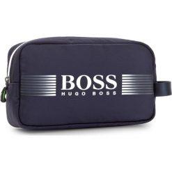 Kosmetyczka BOSS - Pixel D Washbag 50379388 431. Niebieskie kosmetyczki męskie Boss, z materiału. W wyprzedaży za 299,00 zł.