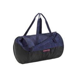 Torba fitness kardio 20l. Niebieskie torebki klasyczne damskie DOMYOS, z materiału. Za 39,99 zł.