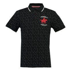 """T-shirty chłopięce z krótkim rękawem: Koszulka polo """"Kakor"""" w kolorze czarnym"""