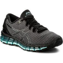 Buty ASICS - Gel-Quantum 360 Shift Mx T889N Carbon/Black/Aruba Blue 9790. Czarne buty do biegania damskie marki Asics. W wyprzedaży za 489,00 zł.