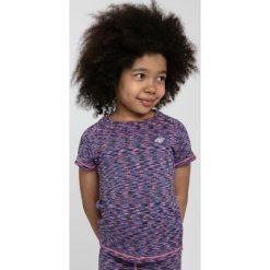T-shirty dziewczęce: Koszulka sportowa dla małych dziewczynek JTSD301 - MULTIKOLOR MELANŻ