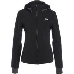 The North Face MOTILI Kurtka Softshell black. Czarne kurtki damskie softshell marki The North Face, xs, z elastanu. W wyprzedaży za 454,30 zł.