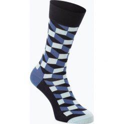 Happy Socks - Skarpety męskie, niebieski. Niebieskie skarpetki męskie Happy Socks. Za 39,95 zł.