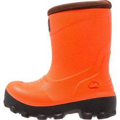 Viking FROST FIGHTER Śniegowce signalred/sort. Brązowe buty zimowe damskie Viking, z materiału. W wyprzedaży za 155,35 zł.