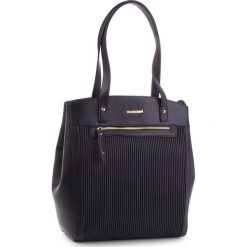 Torebka MONNARI - BAG2890-020 Black. Brązowe torebki klasyczne damskie marki Monnari, w paski, z materiału, średnie. W wyprzedaży za 199,00 zł.