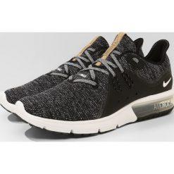 Nike Performance AIR MAX SEQUENT 3 Obuwie do biegania treningowe black/white/dark grey. Czarne buty sportowe męskie Nike Performance, z materiału, do biegania. Za 399,00 zł.