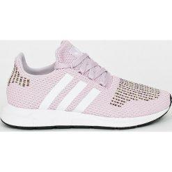 Adidas Originals - Buty Swift Run. Brązowe buty sportowe damskie marki adidas Originals, z bawełny. W wyprzedaży za 329,90 zł.