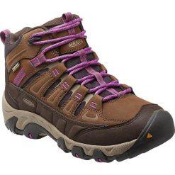 Buty trekkingowe damskie: Keen Buty trekkingowe damskie OAKRIDGE MID POLAR WP kolor brązowo-fioletowy r. 37 (OAKRIDGMP-WN-DEPL)