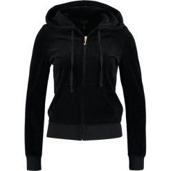 Bluzy damskie: Juicy Couture ROBERTSON  Bluza rozpinana black