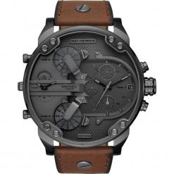 Zegarek DIESEL - Mr. Daddy 2.0 DZ7413 Brown/Silver. Brązowe zegarki męskie Diesel. Za 1699,00 zł.