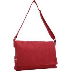 Torebki klasyczne damskie: Torba w kolorze czerwonym na akcesoria do przewijania – 38 x 30 x 14 cm
