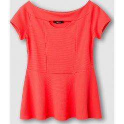 T-shirty damskie: T-shirt z baskinką