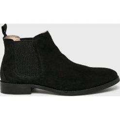 Medicine - Półbuty Basic. Czarne buty wizytowe męskie MEDICINE, z gumy, z okrągłym noskiem. Za 249,90 zł.