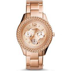 Zegarki damskie: Zegarek FOSSIL – Stella ES3590 Rose Gold/Rose