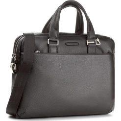 Torba na laptopa PIQUADRO - CA3339MO N. Czarne plecaki męskie marki Piquadro, ze skóry. W wyprzedaży za 1279,00 zł.