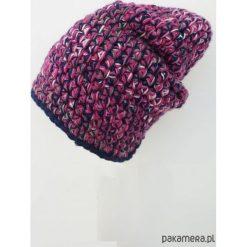 Czapka Hand Made No. 033 / beanie / szydło. Szare czapki damskie Pakamera. Za 99,00 zł.