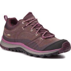 Trekkingi KEEN - Terradora Leather Wp 1019891 Peppercorn/Wine Tasting. Fioletowe buty trekkingowe damskie Keen. W wyprzedaży za 399,00 zł.