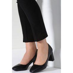 Buty ślubne damskie: Czarne Czółenka Amused Countenance