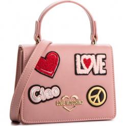 Torebka LOVE MOSCHINO - JC4084PP17LJ0600 Rosa. Czerwone torebki klasyczne damskie Love Moschino, ze skóry ekologicznej. Za 799,00 zł.