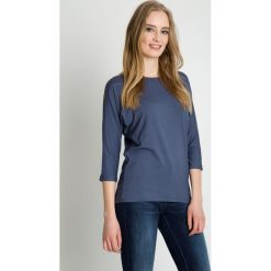 Szara bluzka z długim rękawem BIALCON. Szare bluzki longsleeves BIALCON, uniwersalny, eleganckie. Za 95,00 zł.