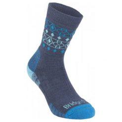 Bridgedale Skarpety Damskie Hike Lightweight Merino Endurance Boot Women's Denim/Blue/119 M. Czerwone skarpetki damskie marki Devold, z materiału. Za 75,00 zł.